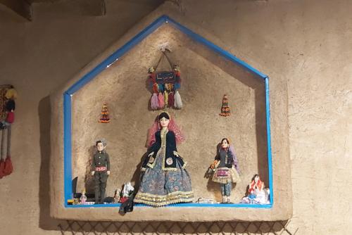 Оформление ресторана «Гиланский шах», Лахиджан, Иран.