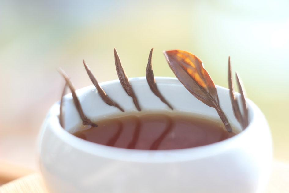 Черный игольчатый китайский чай, Хубэй.