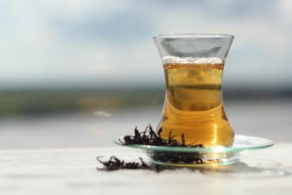 Марочный грузинский черный чай из Анасеули