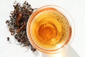 Черный (красный) чай Ладонь Будды полусферической скрутки, Тайвань