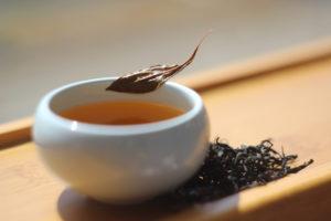 Черный чай из Кимхэ (Корея).