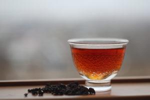 Равнинный Рубиновый чай полусферической скрутки. Натьтоу (Тайвань).