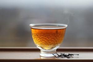 Равнинный Рубиновый чай естественной скрутки. Наньтоу (Тайвань).