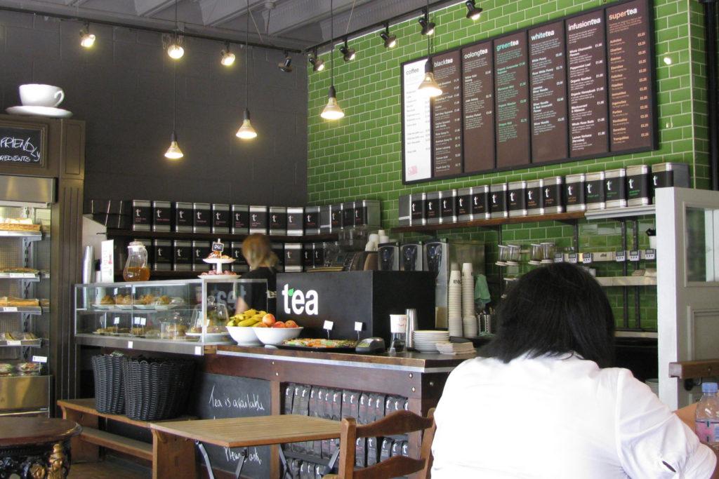 Чайная Tea (Лондон, Великобритания) в 2010 году, в настоящее время закрыта