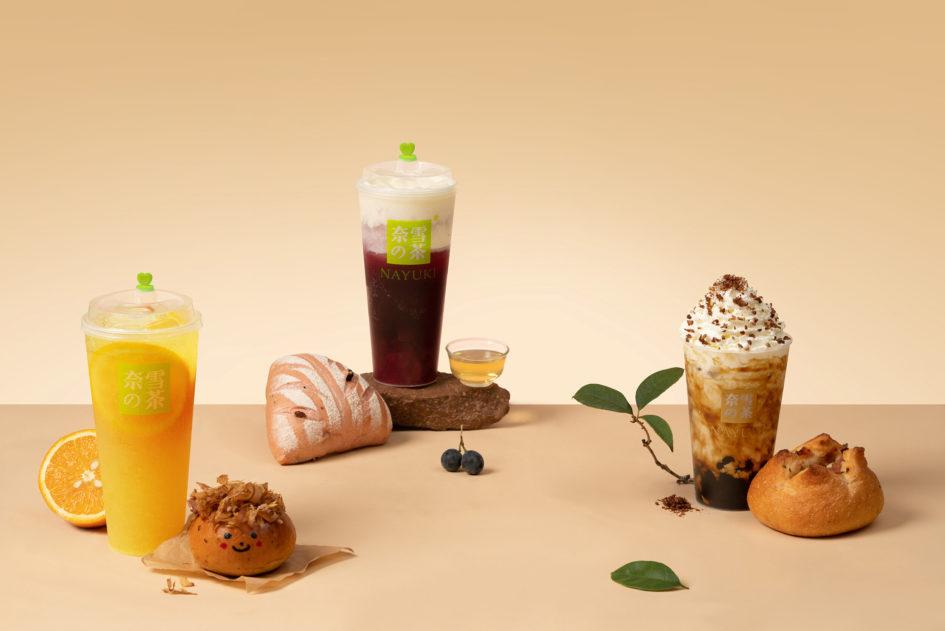 Гастрономические концепты быстрого чая от Nayuki