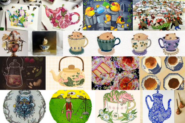 Чайные картины современных художников