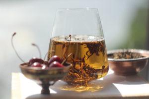 Непальский белый чай с черешней © Ольга Никандрова