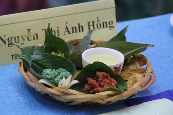 Зеленый вьетнамский чай с традиционными вьетнамскими чайными закусками. © Ольга Никандрова