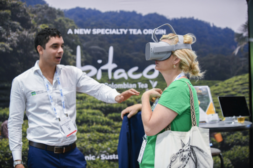 World Tea Expo 2019. Работа выставки. Фото: https://www.worldteaexpo.com/