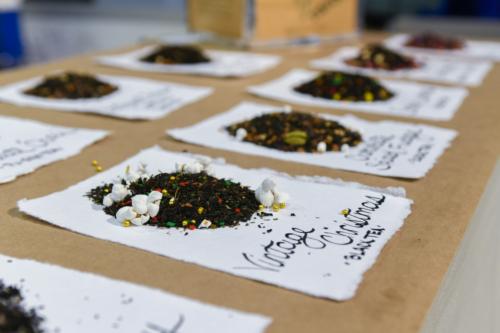 World Tea Expo 2019. Образцы продукции. Фото: https://www.worldteaexpo.com/