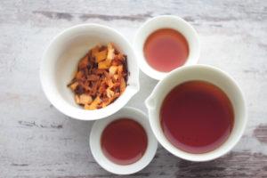 Черный чай с морковью и апельсином. © Ольга Никандрова