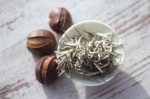 Непальский белый чай с каштанами. © Ольга Никандрова
