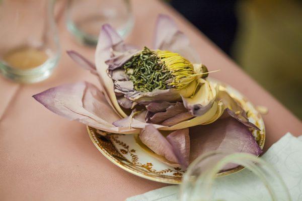 Зеленый вьетнамский чай в лотосе. Фото: Гостевой дом «У Покровки»