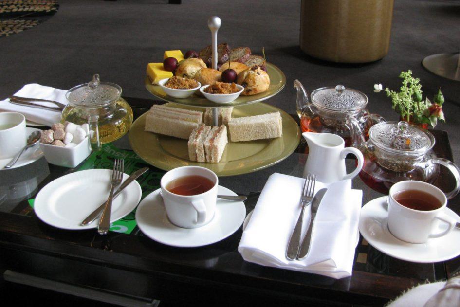 Afternoon Tea в отеле Bingham (Ричмонд). © Ольга Никандрова