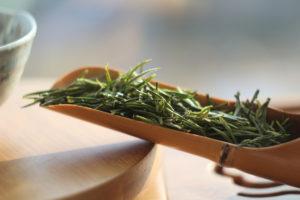 Зеленый белый чай из Танья (Tangya White Tea). © Ольга Никандрова