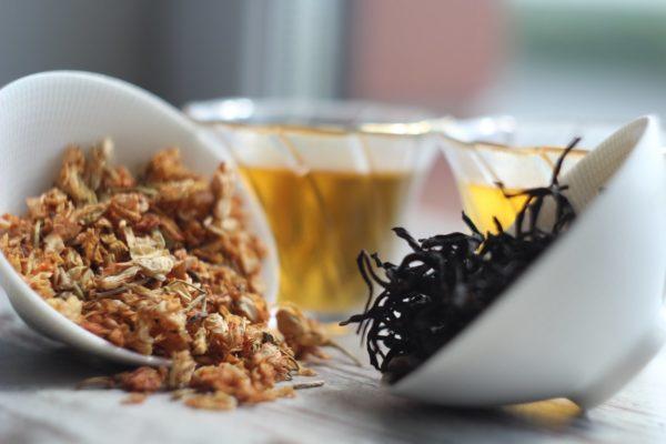 Черный чай с вьетнамским жасмином. © Ольга Никандрова