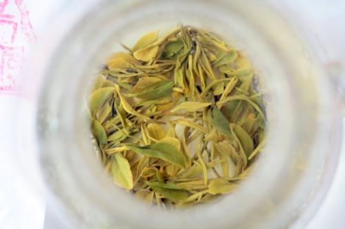 Зеленый чай из Посона (Южная Корея), ранний майский сбор (сё-чак). © Ольга Никандрова