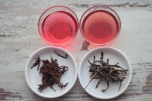 Кенийский пурпурный чай, настоянный в уксусе. © Ольга Никандрова
