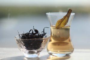 Кенийский пурпурный чай. © Ольга Никандрова